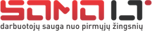 Darbuotojų sauga Logo